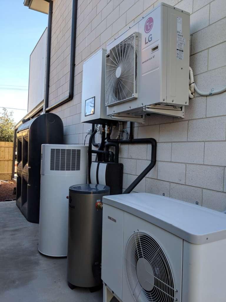 all-electric HVAC case study