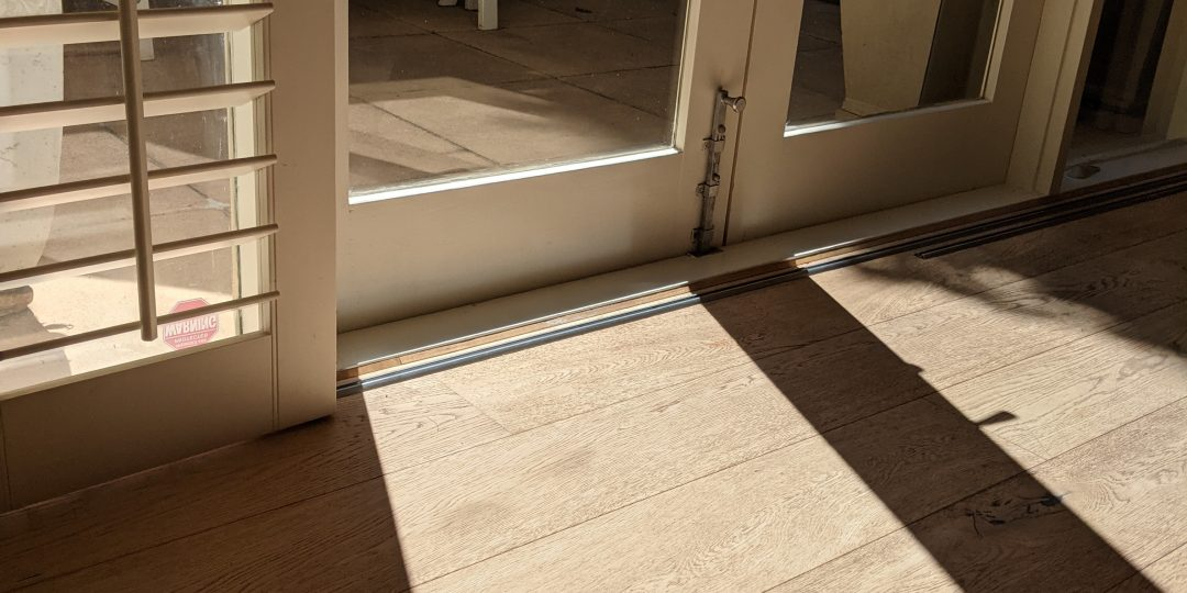 Hydrosol image showing a timber covered slab absorbing sunshine radiation in winter, which will improve house heat loss.
