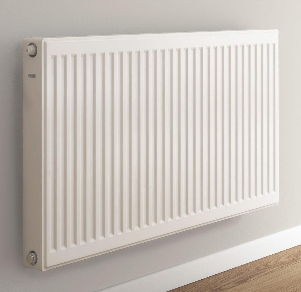 Hydrosol image of hydronic radiator panel