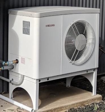 Hydrosol image of Stiebel Eltron 8.5 kW model WPL17ACS hydronic heat pump installation