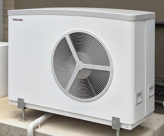 Hydrosol image of Stiebel Eltron 14kW model WPL25ACS hydronic heat pump installation