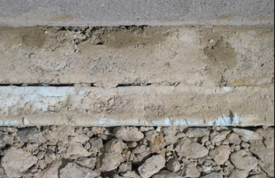Image of Polystyrene Under Slab Insulation to reduce heat loss from a hydronically heated slab-on-ground.