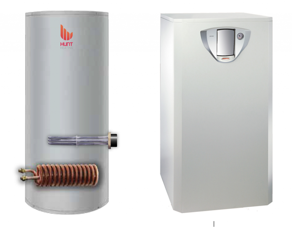 Image of Aqua Plus & Inox heating, cooling and hot water system designed for reverse cycle heat pumps